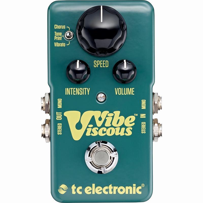 tc electronic VISCOUS VIBE [Shin-Ei Uni-Vibe]【ONLINE STORE】