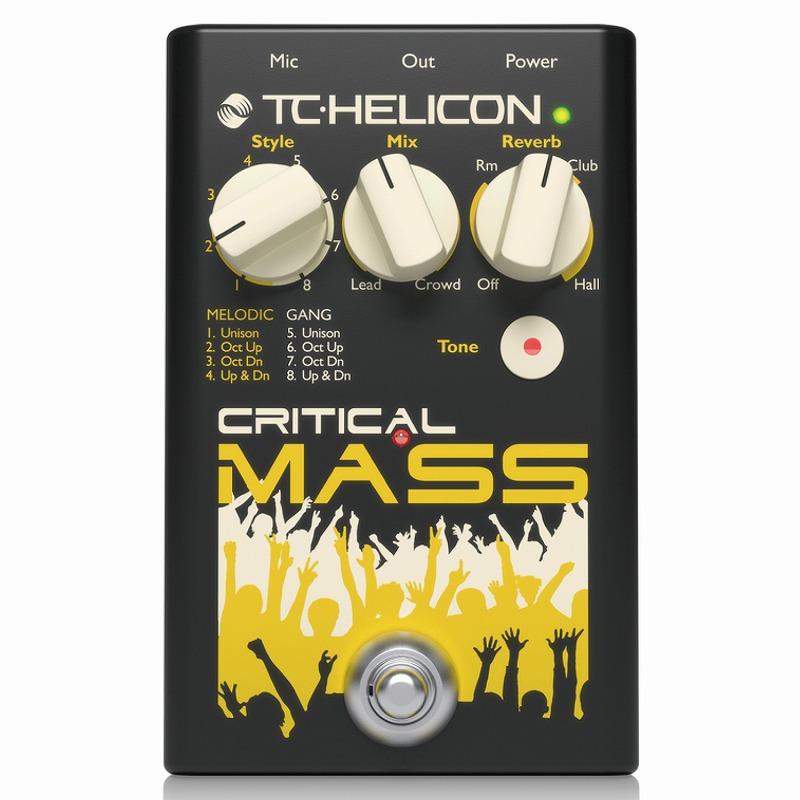 TC-Helicon CRITICAL MASS [ハーモナイザー]【ONLINE STORE】