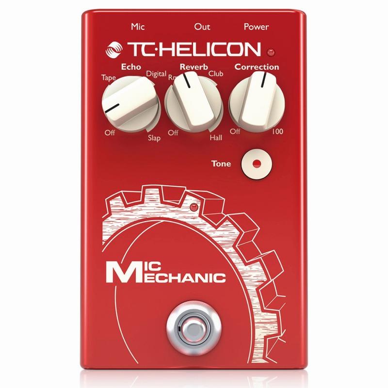 ボーカルエフェクター ペダル ティーシーヘリコン TC-Helicon MIC MECHANIC 2 [ボーカルエフェクター]【ONLINE STORE】