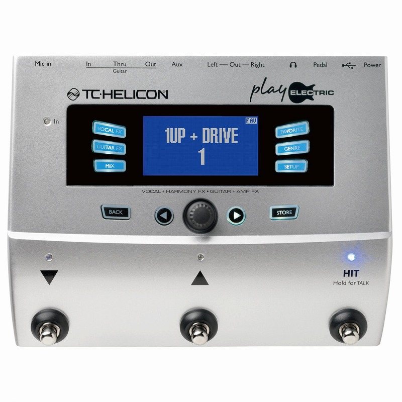TC-Helicon PLAY ELECTRIC [統合型プロセッサー]【ONLINE STORE】