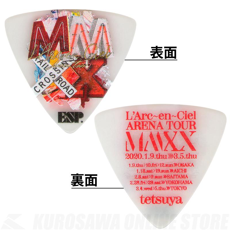 ESP Signature Pick Series tetsuya Model PA-LT10-MMXX White《100枚セット》(2020年1月末以降発売)【ONLINE STORE】