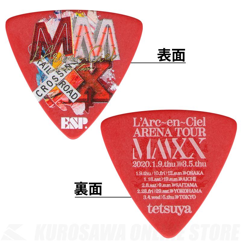 ESP Signature Pick Series tetsuya Model PA-LT10-MMXX Red《100枚セット》(2020年1月末以降発売)【ONLINE STORE】