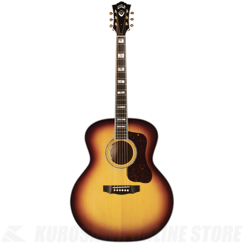 GUILD F-55E MAPLE/ATB【送料無料】【サントアンジェロケーブルプレゼント!】【ONLINE STORE】