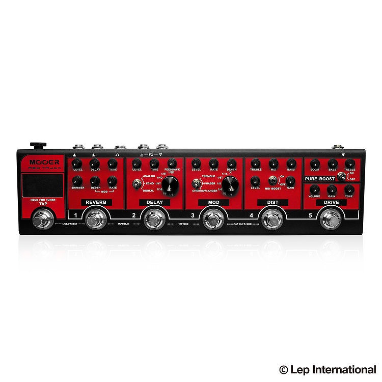 MOOER RED TRUCK 【OUTLET】【ONLINE STORE】