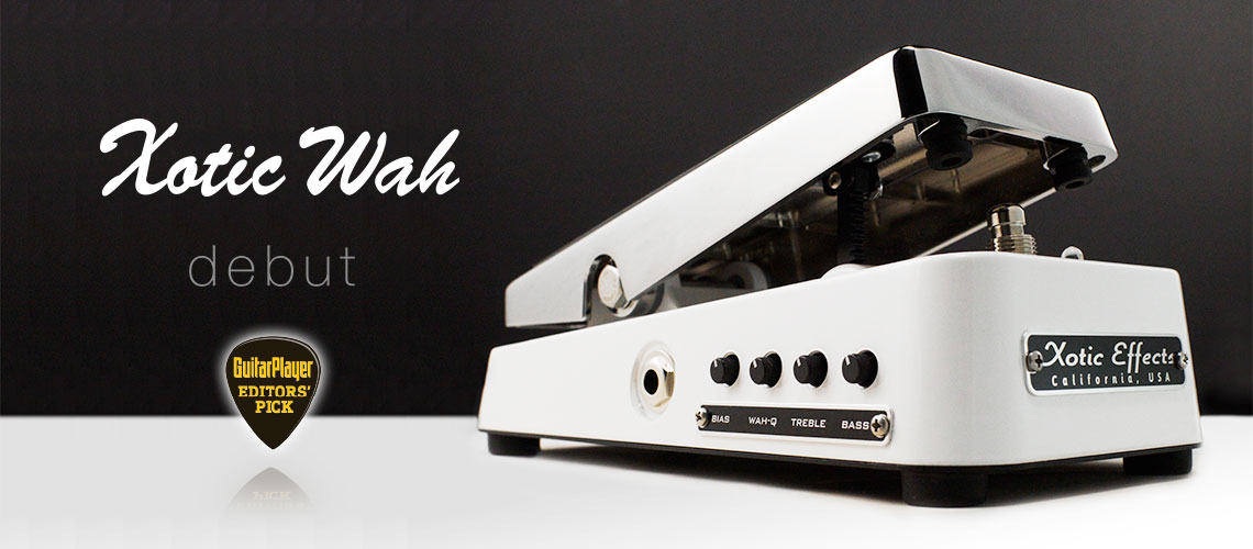 Xotic XW-1 Wah 【OUTLET】【ONLINE STORE】