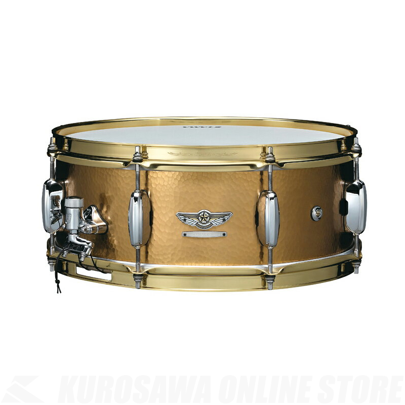 "TAMA TBRS1455H [STAR Reserve Snare Drum 14"" x 5.5"" Hand Hammered Brass] 【ONLINE STORE】"