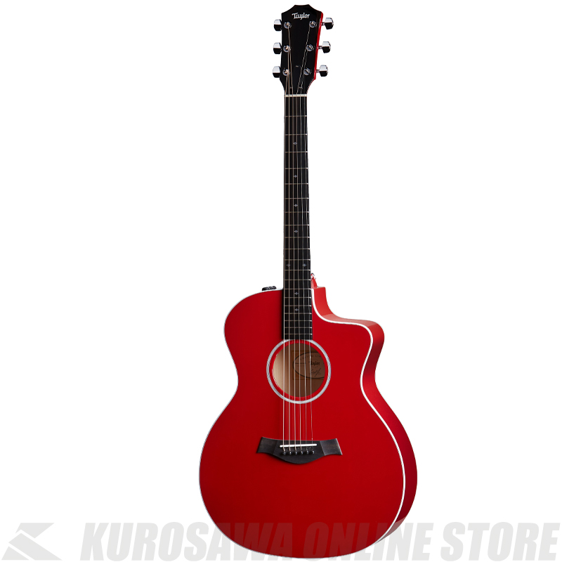 Taylor 214ce DLX RED 【サントアンジェロケーブルプレゼント!】【ONLINE STORE】