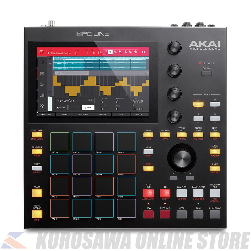 AKAI MPC ONE Standalone Music Production Center【ONLINE STORE】