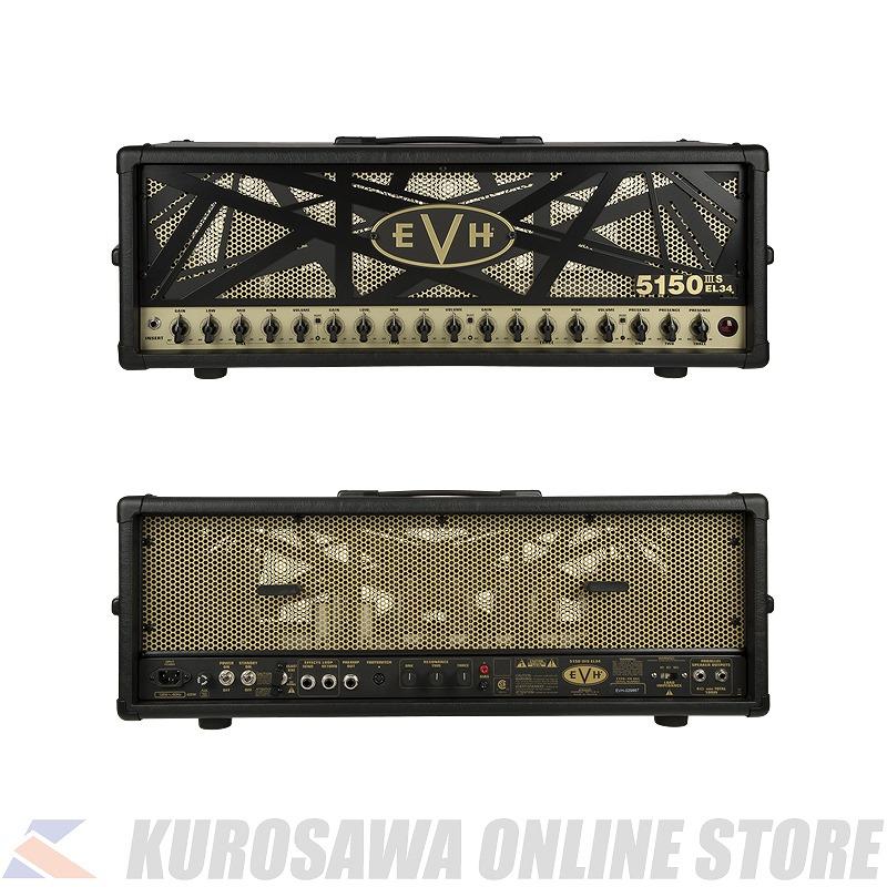 EVH 5150IIIS 100W EL34 Head -Black- 100V JPN (ご予約受付中)【ONLINE STORE】