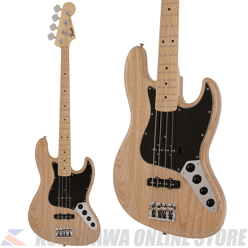 Fender Made in Japan Limited Active Jazz Bass Maple Fingerboard -Natural-【送料無料】【ONLINE STORE】