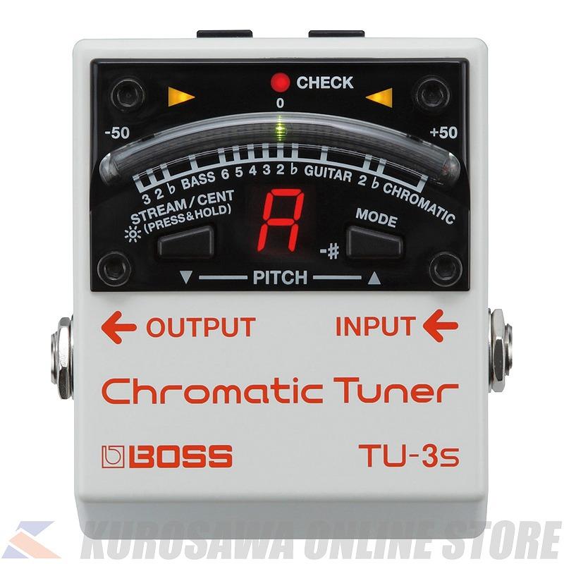 BOSS TU-3S Chromatic Tuner (ご予約受付中)【送料無料】【ONLINE STORE】
