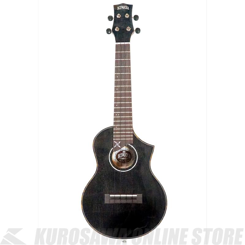 KPC-SNB KIWAYA 忍/BLACK STORE】 【送料無料】【ウクレレ】《コンサートサイズ》【ONLINE