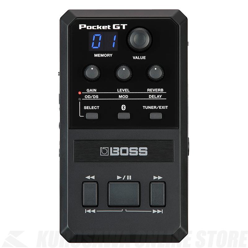 BOSS POCKET-GT [POCKET EFFECTS PROCESSOR]【送料無料】【ONLINE STORE】