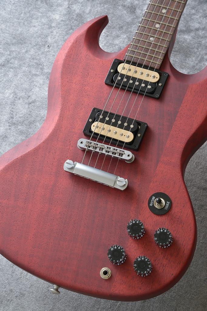 Gibson SGM 2014 Cherry Satin Satin Chrome Min-ETune(送料無料)(アウトレット特価) 【ONLINE STORE】