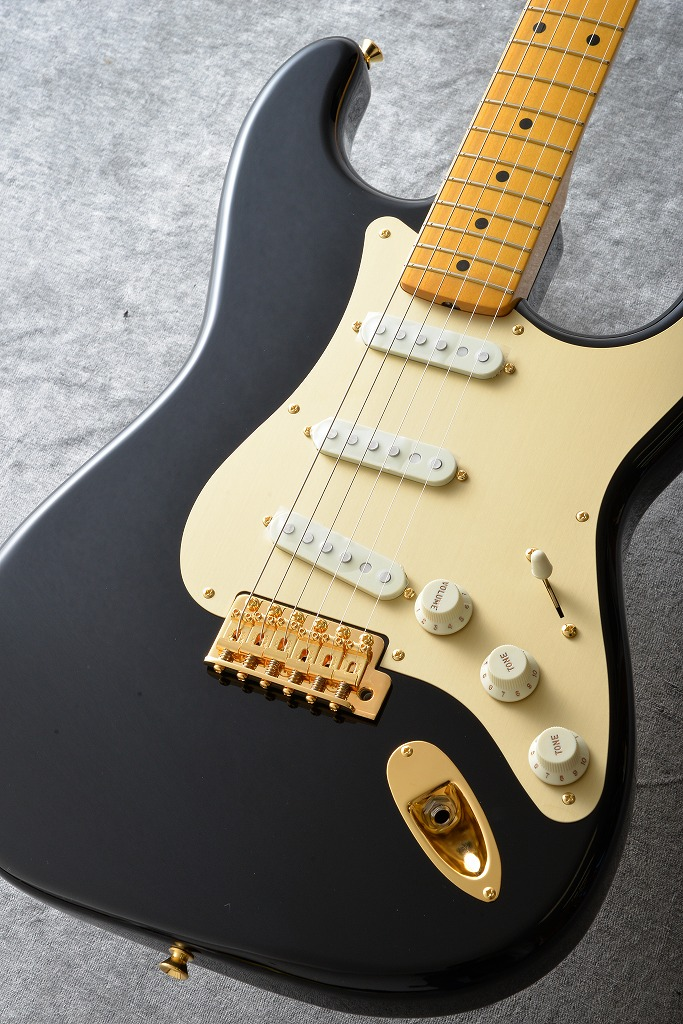 Fender Made in Japan Traditional 50s Stratocaster Anodized(Black)[数量限定モデル] 【ONLINE STORE】