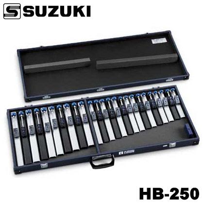 SUZUKI 鈴木楽器 トーンチャイム HB-250 クロマチック25音セット【ONLINE STORE】