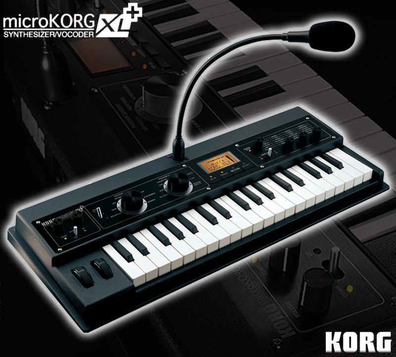 KORG microKORG XL+ 《シンセサイザー/ボコーダー》【送料無料】【ONLINE STORE】