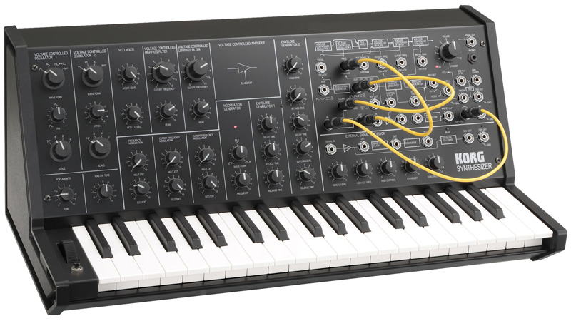 KORG MS-20 mini Monophonic Synthesizer《シンセサイザー》 【送料無料】【smtb-u】【ONLINE STORE】