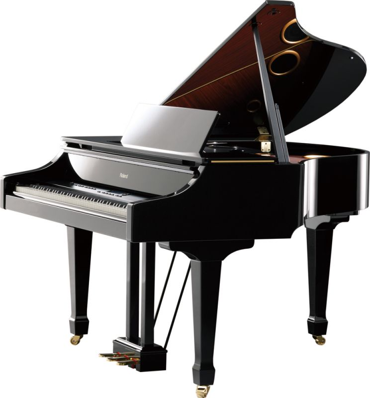 Roland V-Piano Grand [GP-7-PES] (黒塗鏡面艶出し塗装仕上げ)【配送設置無料】【ONLINE STORE】