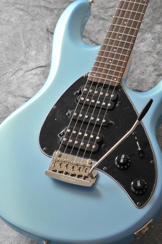 Musicman Silhouette HSH T SBL R BK (Sky Blue)【送料無料】【ONLINE STORE】
