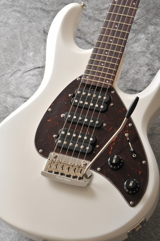 Musicman Silhouette HSH T WP R SH (White Pearl)【送料無料】[受注生産品]【ONLINE STORE】