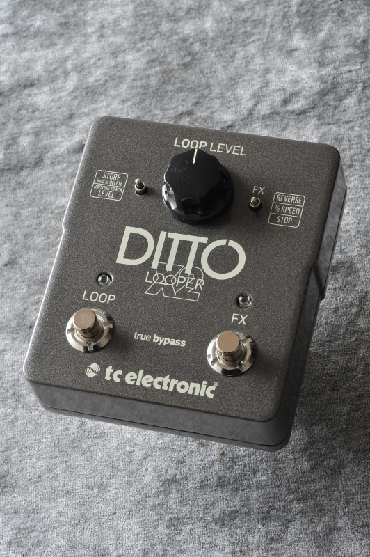 TC ELECTRONIC Ditto X2 Looper (ルーパー)(送料無料)(マンスリープレゼント)【ONLINE STORE】