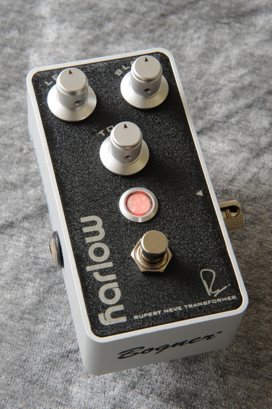 Bogner Neve Pedals HARLOW RUPERT NEVE DESIGNS BOOST With BLOOM (Black) 《エフェクター/ブースター》【送料無料】【限定ブラック】【ONLINE STORE】