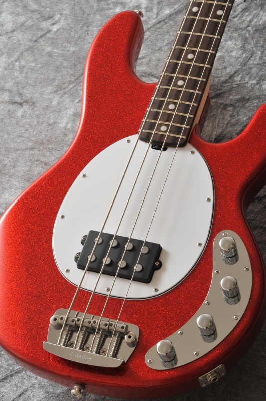 MUSIC MAN 2014 Limited Edition SR-4 StingRay 4 Rosewood Fretboard (Cardinal Red Sparkle) 【送料無料】【ONLINE STORE】