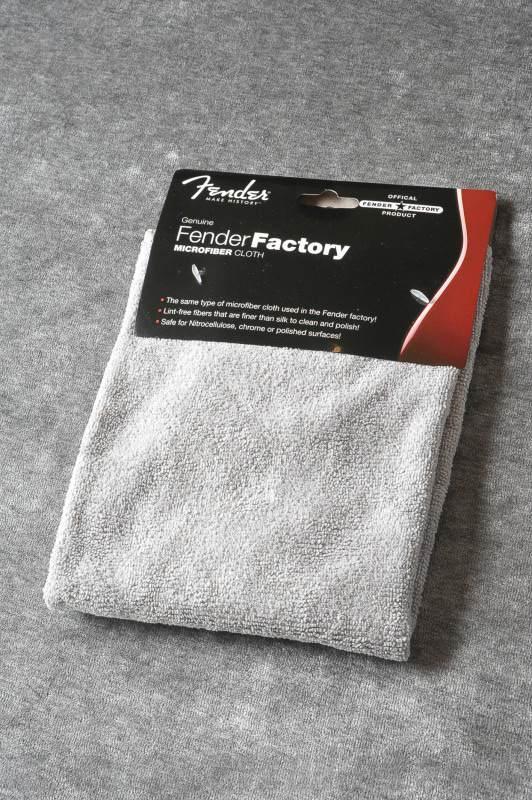 クロス 《フェンダー》 Fender Factory 別倉庫からの配送 Microfiber STORE ONLINE Gray 贈物 《クロス》 Cloth