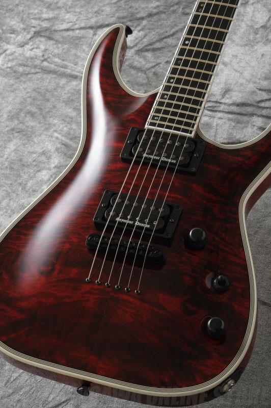 Edwards Original Series E-HR-145NT/QM (Black Cherry) 《エレキギター》【送料無料】【ONLINE STORE】