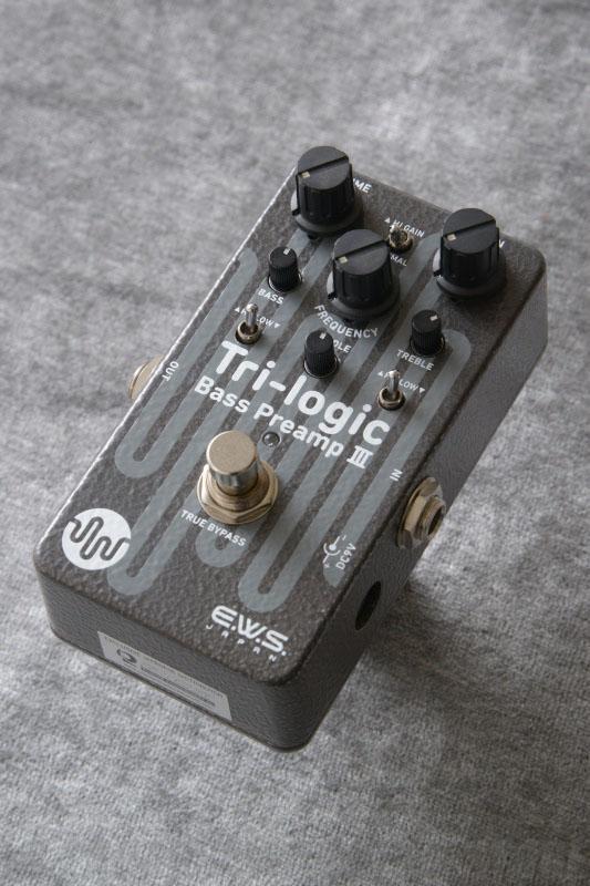 適切な価格 E.W.S Tri-logic Tri-logic Bass Preamp3 《ベース用プリアンプ》【送料無料 Preamp3】【ONLINE E.W.S STORE】, 静岡うまいもの:4e367aa8 --- canoncity.azurewebsites.net