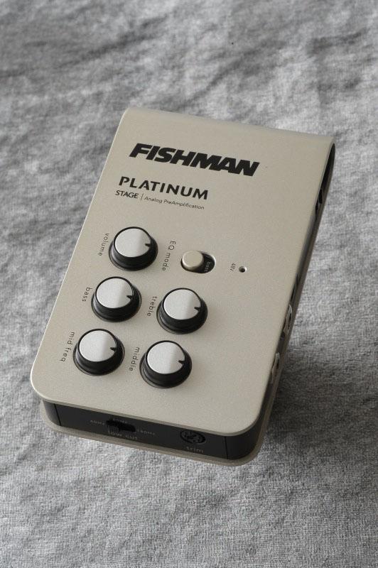 Fishman Platinum Stage EQ/DI Analog Preamp [PRO-PLT-301] 《アコースティックギター用プリアンプ/DI》 【送料無料】【ONLINE STORE】