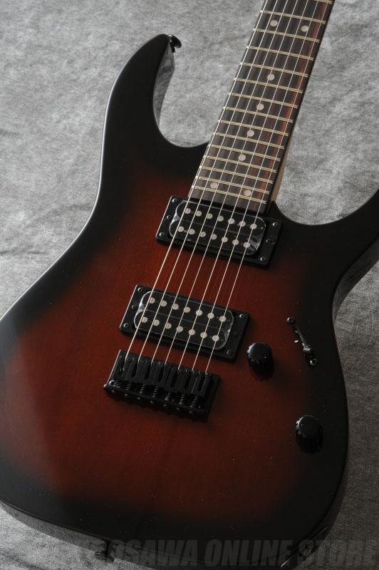 Ibanez GIO Series GRG7221-WNS (Walnut Sunburst) (入門用ギターセット)(送料無料)(マンスリープレゼント)