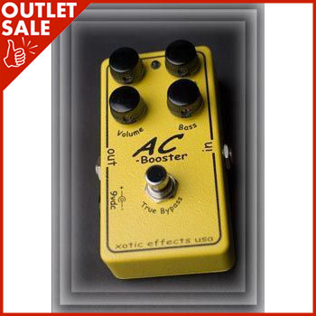 Xotic AC Booster 《エフェクター/ブースター》【1台のみ!アウトレット特価!】【送料無料】【ONLINE STORE】