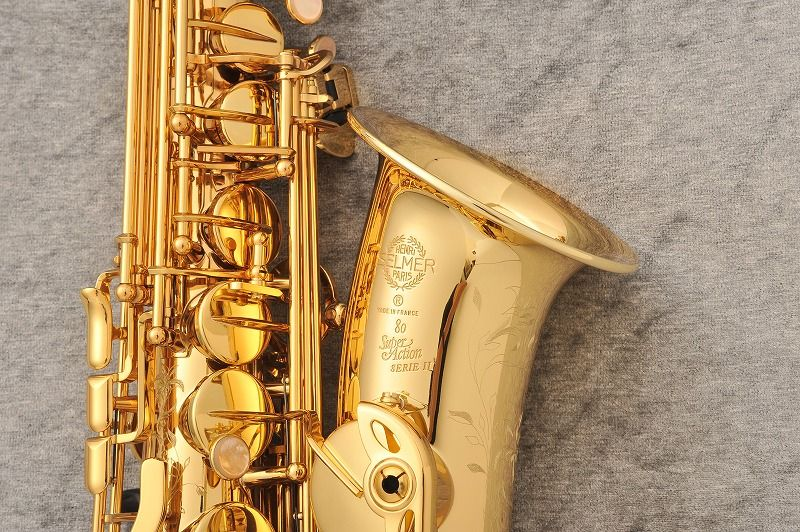 H.Selmer SA80II Jubilee Alto Sax 【新品】 【サキソフォンラボ】【次回入荷予約受付中!】