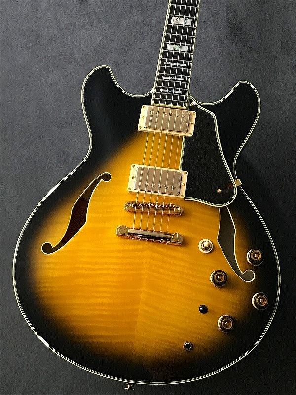 Ibanez AS200 Vintage Yellow Sunburst 【G-CLUB渋谷】