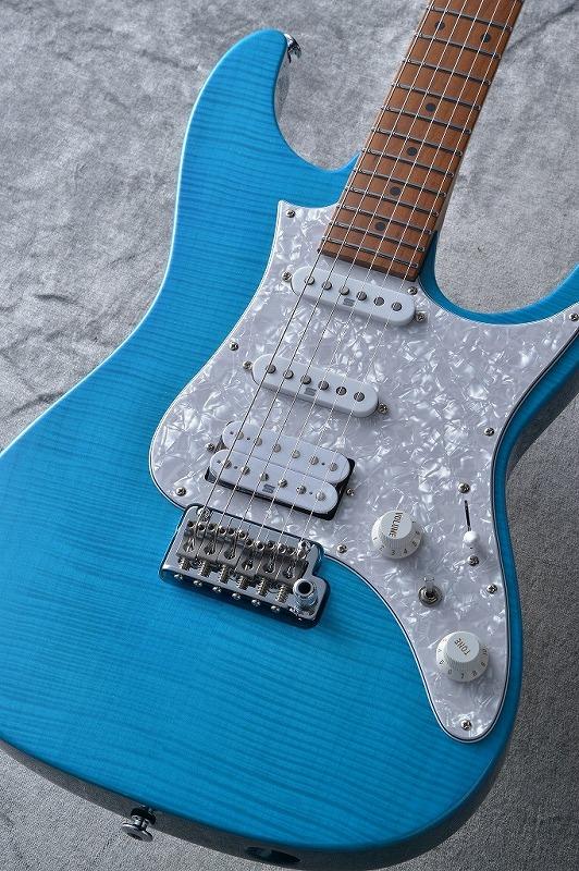 Ibanez Prestige AZ2204F Transparent Aqua Blue 【G-CLUB渋谷】
