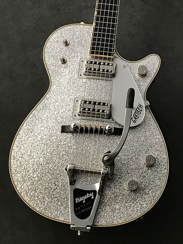 Gretsch G6129T-59 Vintage Select '59 Silver Jet (#JT18093889) Silver Sparkle 【G-CLUB渋谷】