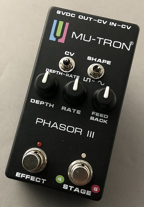 MU-TRON PHASOR III Limited Edition -Black- 【NEW】 【G-CLUB渋谷】