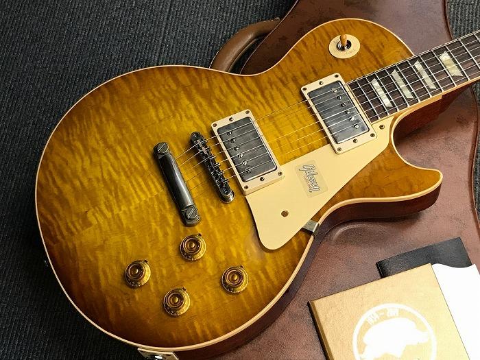 Gibson Custom Shop 60th Anniversary 1959 Les Paul Standard HRM VOS (#991516) Faded Iced Tea 【G-CLUB渋谷】