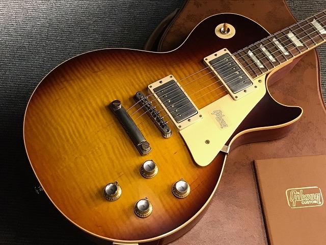 Gibson Custom Shop Historic Collection 1960 Les Paul Standard 2018 VOS (#08794) Dark Bourbon Fade【G-CLUB渋谷】
