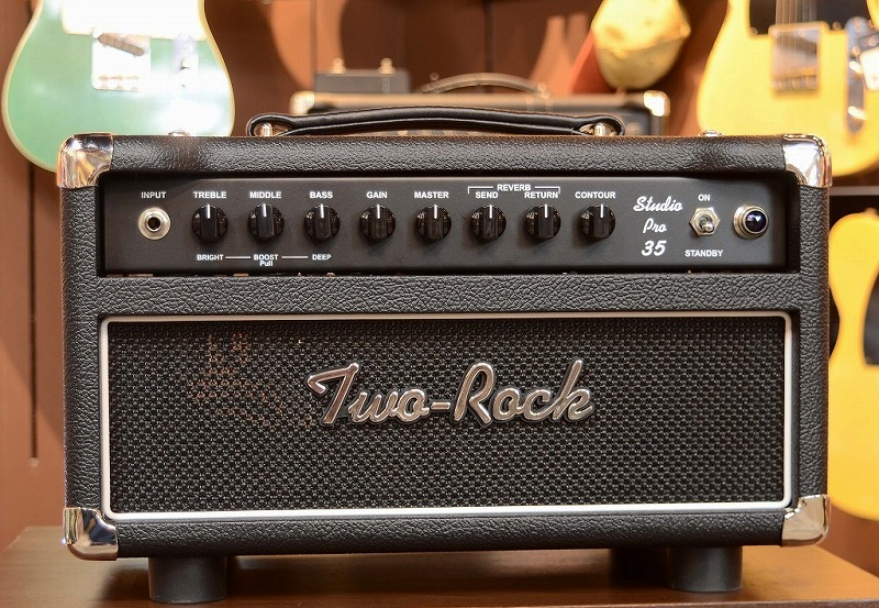 TWO ROCK 【ベストセラー!】Studio Pro 35 Head 35W S/N: 1701 【G-CLUB渋谷】