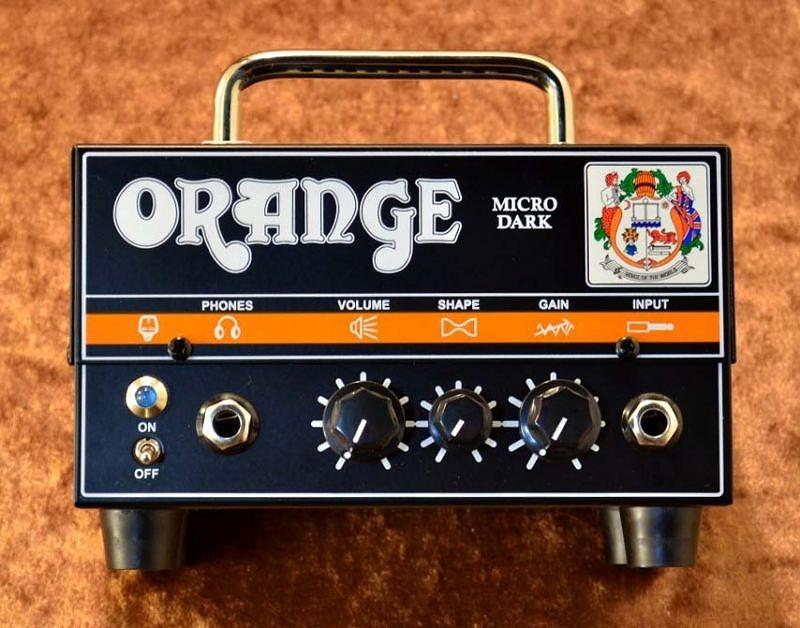 ORANGE Micro Dark 〔ギターアンプヘッド〕【送料無料】 【G-CLUB渋谷】