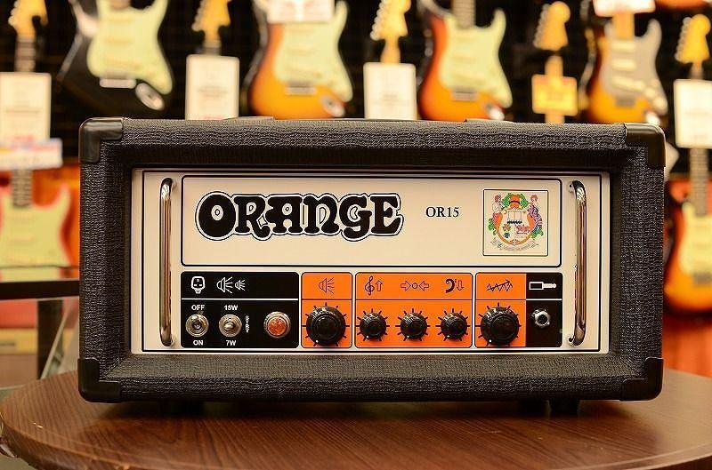 ORANGE OR15《ギターヘッドアンプ》【送料無料】 【G-CLUB渋谷】