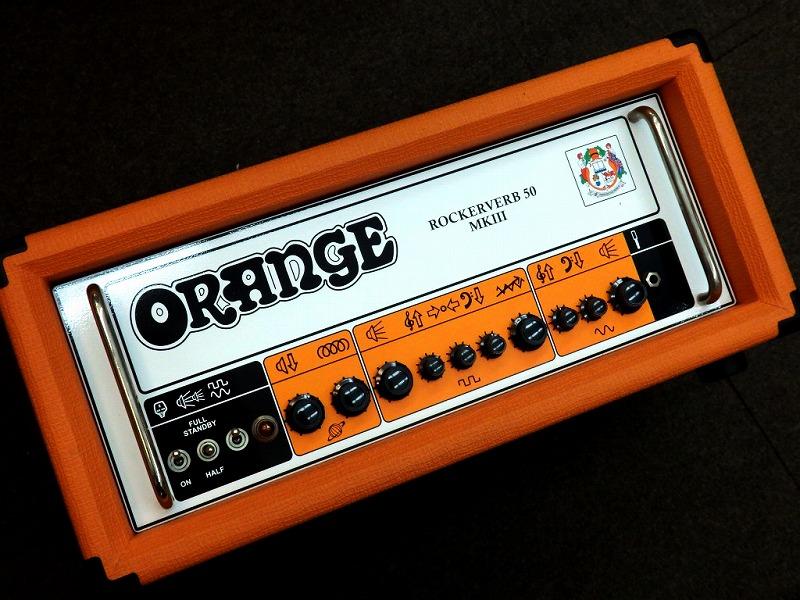 ORANGE Rockerverb 50H MKIII【オレンジアンプ】【チューブアンプ】【アウトレット】 【G-CLUB渋谷】
