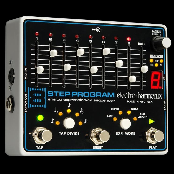 Electro-Harmonix 8 Step Program [Analog Expression/CV Sequencer][エレクトロハーモニクス][エレハモ][エフェクター]【G-CLUB渋谷】