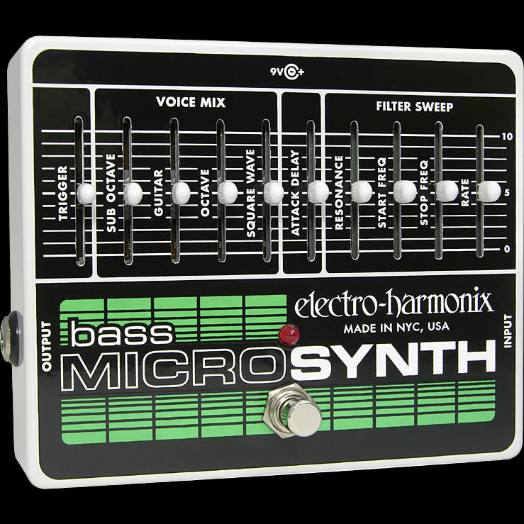 Electro-Harmonix Bass Micro Synthesizer [Analog Microsynth]【G-CLUB渋谷】