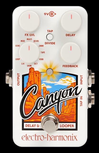 Electro-Harmonix Canyon [Delay & Loopers]【G-CLUB渋谷】