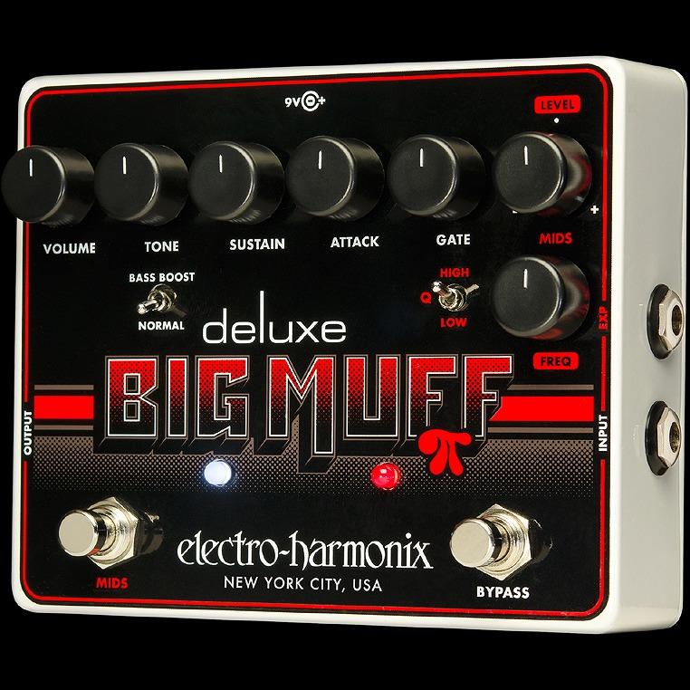 Electro-Harmonix Deluxe Big Muff Pi [The icon reimagined] [エレクトロハーモニクス][エレハモ][エフェクター]【G-CLUB渋谷】