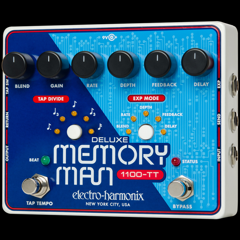 Electro-Harmonix Deluxe Memory Man 1100-TT [Delay]【G-CLUB渋谷】